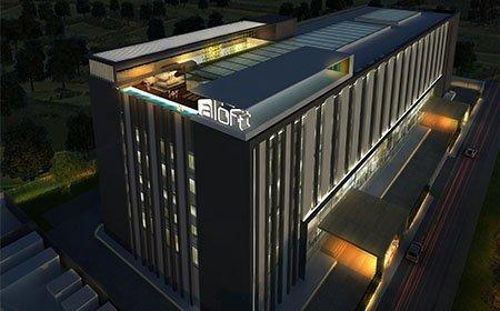 Aloft Bangalore by Morpogenesis