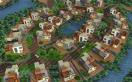 Atlanta city Gujarat by Morpogenesis