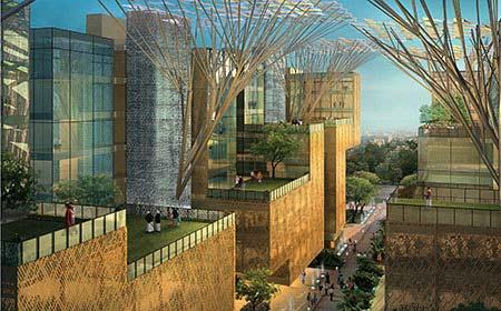 Rajaswa Bhawan New Delhi by Morpogenesis