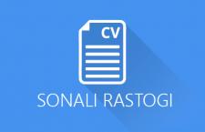 Sonali Rastogi CV