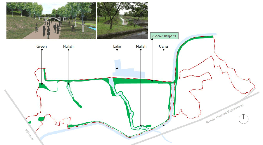 A safe and connected public slow transport corridor used for community activities, pedestrian and cyclists movements