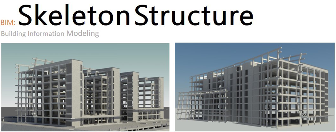 BIM_Skeleton Structure