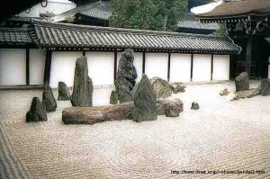 Rock composition at Tofuku-ji (1934)[7]