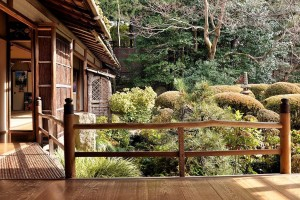 Garden and buildings at Shisen-dō, a Buddhist temple in Kyoto, Japan [19]